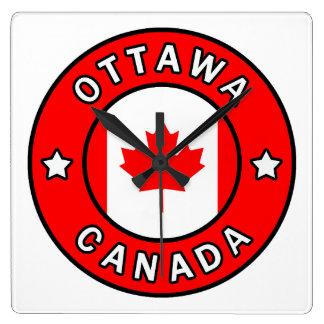 Relógio Quadrado Ottawa Canadá