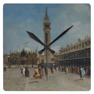 Relógio Quadrado Praça San Marco