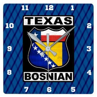 Relógio Quadrado Pulso de disparo americano bosniano do sinal de