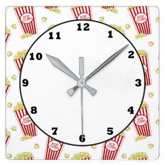 Relógio Quadrado Pulso de disparo da decoração do patternhome da