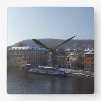 Relógio Quadrado Pulso de disparo da ilha de Střelecký, Praga