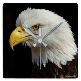 Relógio Quadrado Pulso de disparo de Eagle