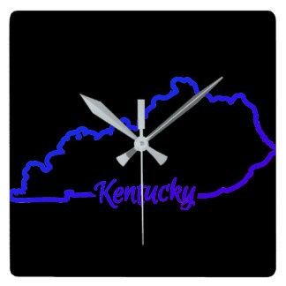 Relógio Quadrado Pulso de disparo de Kentucky