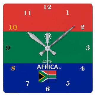 Relógio Quadrado Pulso de disparo de parede do desenhista de África