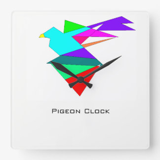 Relógio Quadrado Pulso de disparo do pulso de disparo   de Piegon