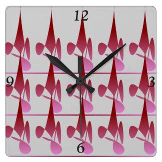 Relógio Quadrado Pulso de disparo do quadrado da sombra do diamante