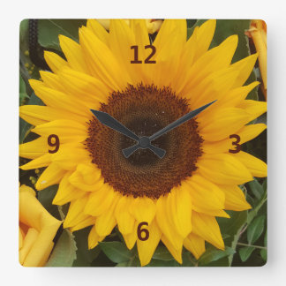 Relógio Quadrado Pulso de disparo floral da fotografia da flor do