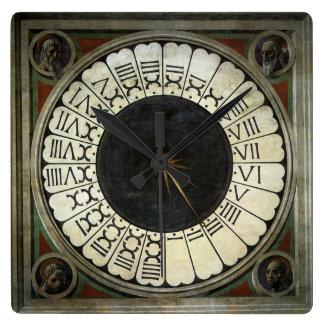 Relógio Quadrado Pulso de disparo no domo por Paolo Uccello