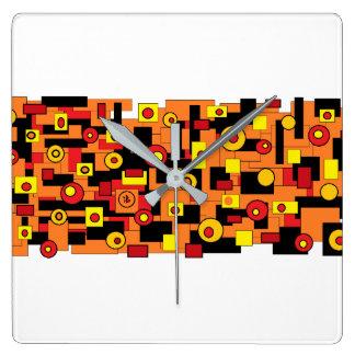 Relógio Quadrado red mélimélo
