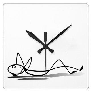 Relógio Quadrado Relaxe