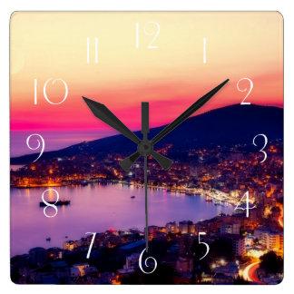Relógio Quadrado Sarande Albânia