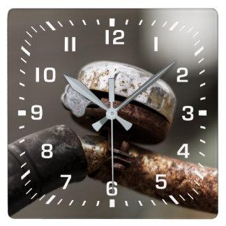 Relógio Quadrado sino da bicicleta