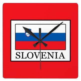 Relógio Quadrado Slovenia