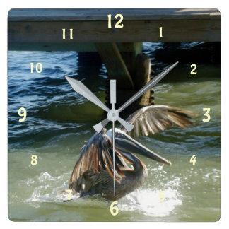 Relógio Quadrado Splashdown