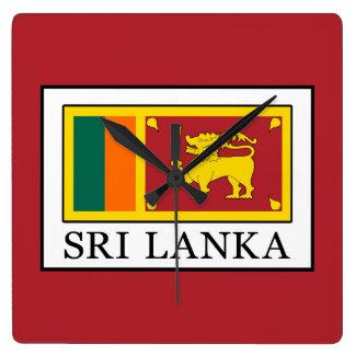 Relógio Quadrado Sri Lanka