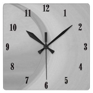 Relógio Quadrado Subtil