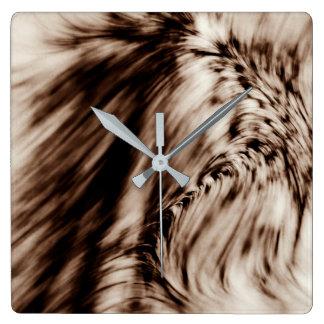 Relógio Quadrado Swerve (Brown)