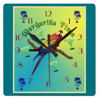 Relógio Quadrado Tempo de Margarita