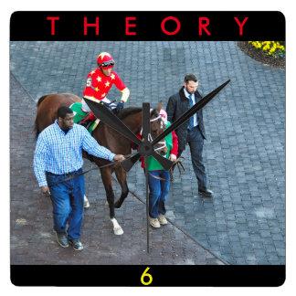 Relógio Quadrado Teoria