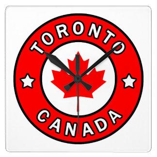 Relógio Quadrado Toronto Canadá