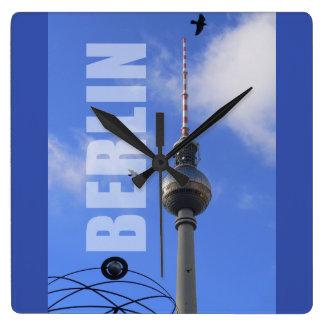Relógio Quadrado Torre 01,3 da tevê de BERLIM