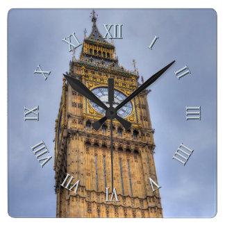 Relógio Quadrado Torre de Elizabeth (Big Ben) Westminster, Londres,