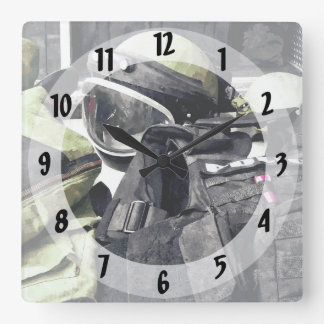Relógio Quadrado Uniforme do esquadrão da morte