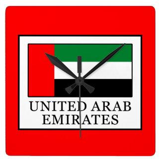 Relógio Quadrado United Arab Emirates