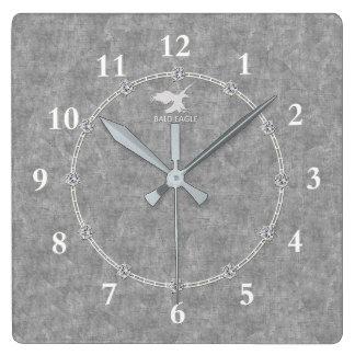 Relógio Quadrado Venda decorada moderna do pulso de disparo de