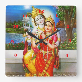 Relógio Quadrado VINTAGE Krishna India Canadá