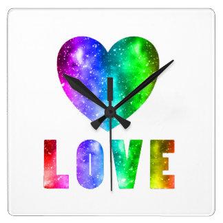 Relógio Quadrado Vitórias do amor