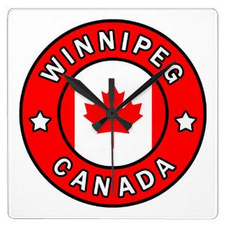 Relógio Quadrado Winnipeg Canadá