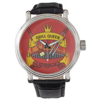 Relógio Rainha da grade