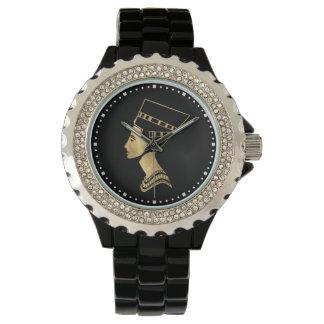 Relógio Rainha Nefertiti