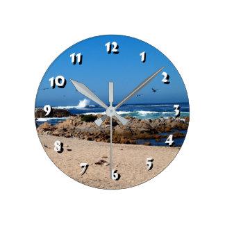 Relógio Redondo 12 escolhas do número para escolher - o Onda-Pulso