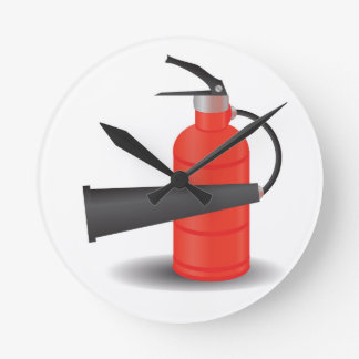 Relógio Redondo 90Fire Extinguisher_rasterized