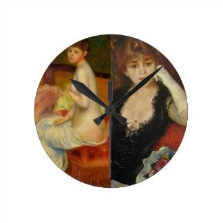 Relógio Redondo A beleza e a arte podem fazer tudo