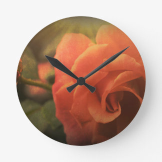 Relógio Redondo A laranja aumentou