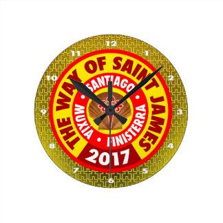 Relógio Redondo A maneira de St James 2017