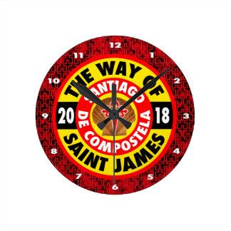 Relógio Redondo A maneira de St James 2018