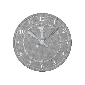 Relógio Redondo A platina real decorou a venda moderna do pulso de
