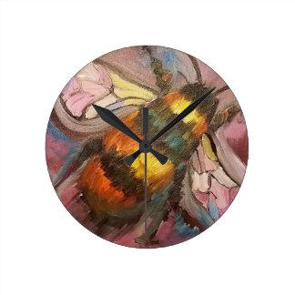Relógio Redondo Abelha