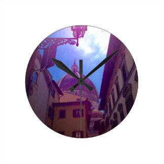 Relógio Redondo Abóbada de Brunelleschi em Florença, Italia