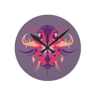Relógio Redondo Abstracção oito Dolos
