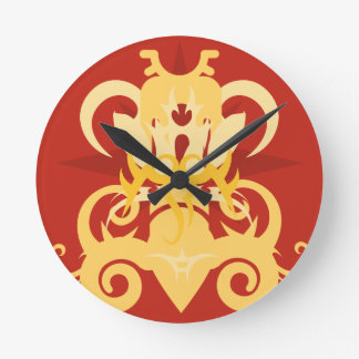 Relógio Redondo Abstracção uma Osiris