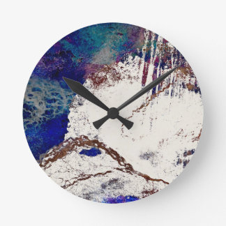 Relógio Redondo Abstrato das contradições