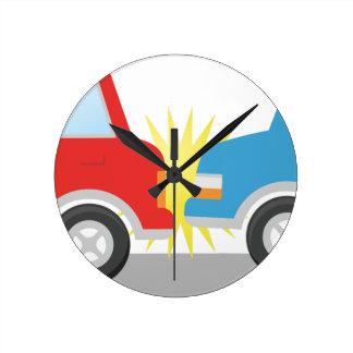 Relógio Redondo Acidente de transito