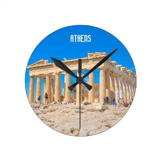 Relógio Redondo Acrópole em Atenas, piscina