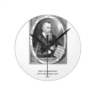 Relógio Redondo Adam Gumpelzhaimer