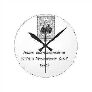 Relógio Redondo Adam Gumpelzhaimer 1625